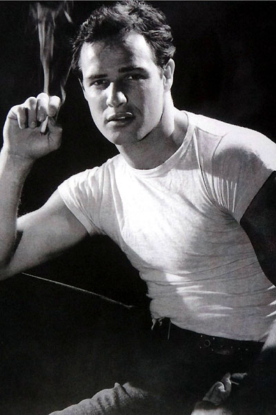 Brando : Bild Leslie Greif, Marlon Brando