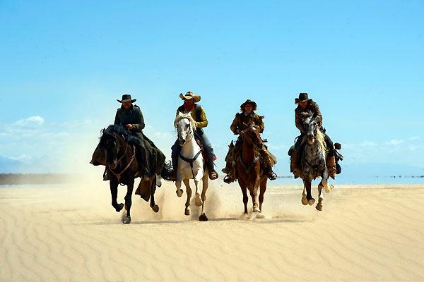 Lucky Luke : Bild Jean Dujardin, Melvil Poupaud, Michaël Youn, Sylvie Testud