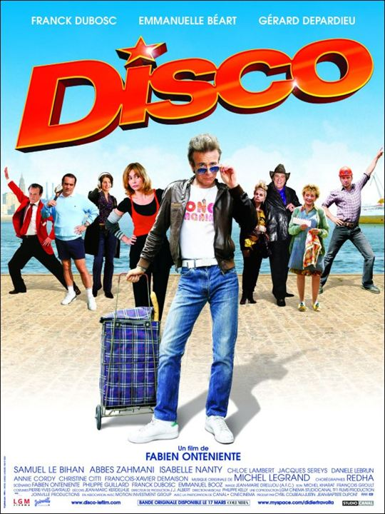 Disco : Kinoposter Abbes Zahmani, Annie Cordy, Christine Citti, Franck Dubosc