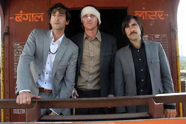 Darjeeling Limited : Bild Adrien Brody, Jason Schwartzman, Owen Wilson