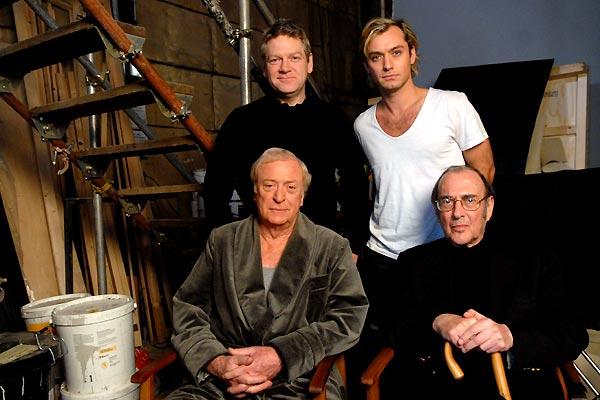 1 Mord für 2 : Bild Harold Pinter, Jude Law, Kenneth Branagh, Michael Caine