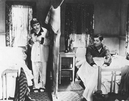 Es geschah in einer Nacht : Bild Clark Gable, Claudette Colbert, Frank Capra