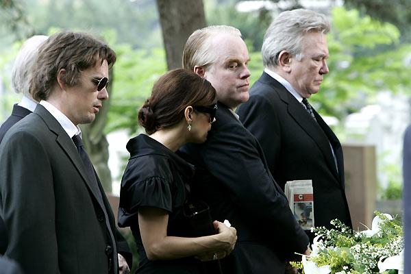 Tödliche Entscheidung - Before the Devil Knows You're Dead : Bild Albert Finney, Ethan Hawke, Marisa Tomei, Philip Seymour Hoffman