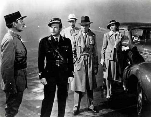Casablanca : Bild Claude Rains, Humphrey Bogart, Ingrid Bergman, Michael Curtiz, Paul Henreid
