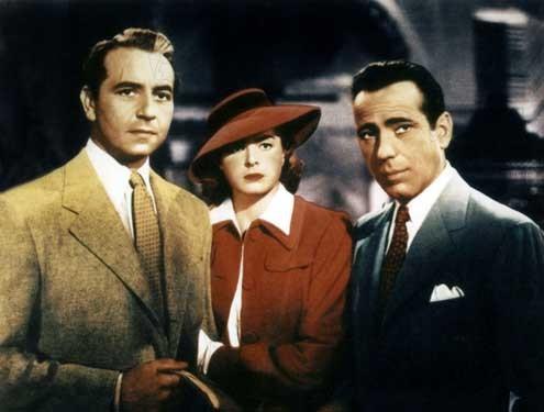 Casablanca : Bild Humphrey Bogart, Ingrid Bergman, Michael Curtiz, Paul Henreid