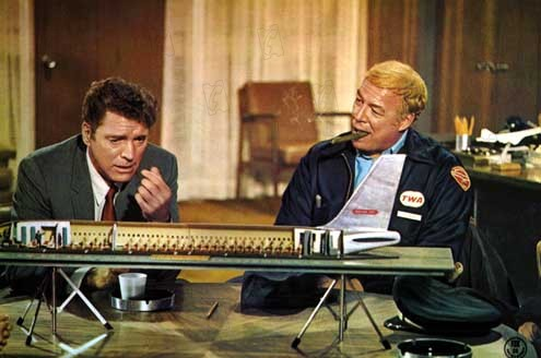 Airport : Bild Burt Lancaster, George Kennedy, George Seaton
