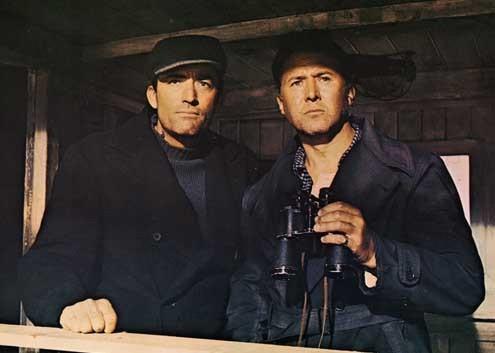 Die Kanonen von Navarone : Bild Anthony Quayle, Gregory Peck, Jack Lee Thompson