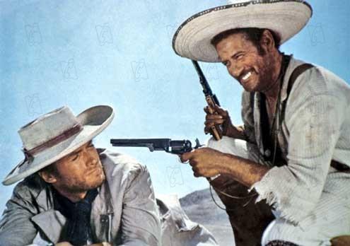 Zwei glorreiche Halunken : Bild Clint Eastwood, Eli Wallach, Sergio Leone
