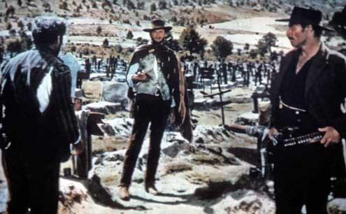 Zwei glorreiche Halunken : Bild Clint Eastwood, Eli Wallach, Lee Van Cleef, Sergio Leone
