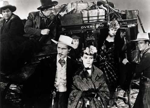 Ringo : Bild Andy Devine, Claire Trevor, George Bancroft, John Carradine, John Ford