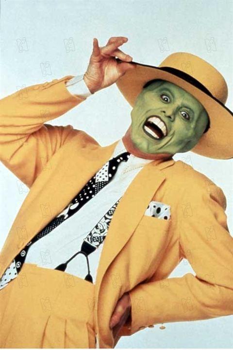 Jim Carrey Maske