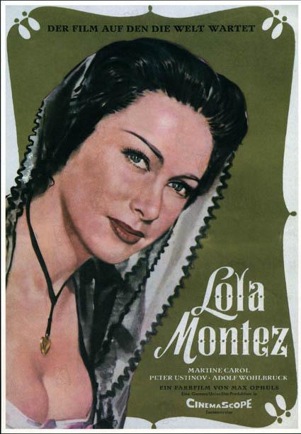 Lola Montez : Bild Max Ophüls, Peter Ustinov