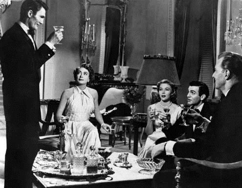 Maskierte Herzen : Bild David Miller, Gloria Grahame, Jack Palance, Joan Crawford, Mike Connors