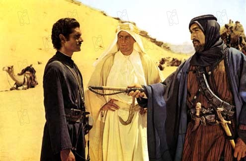 Lawrence von Arabien : Bild Anthony Quinn, Omar Sharif, Peter O'Toole