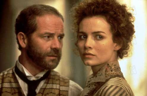 Miss Julie : Bild Mike Figgis, Peter Mullan, Saffron Burrows