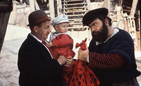 Popeye, der Seemann mit dem harten Schlag : Bild Paul Dooley, Paul L. Smith, Robert Altman