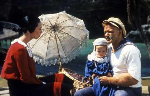 Popeye, der Seemann mit dem harten Schlag : Bild Robert Altman, Robin Williams