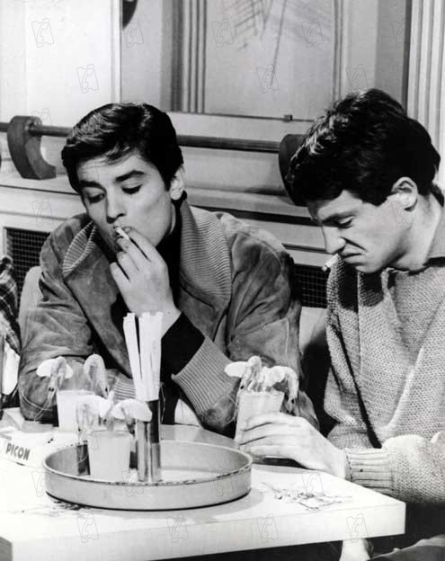 Sei schön und halt den Mund : Bild Alain Delon, Jean-Paul Belmondo, Marc Allégret