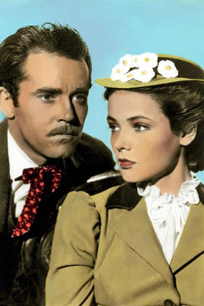 Rache für Jesse James : Bild Gene Tierney, Henry Fonda