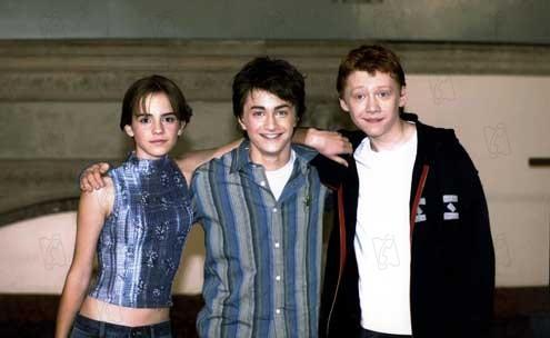 Harry Potter und die Kammer des Schreckens: Daniel Radcliffe, Emma Watson, Rupert Grint