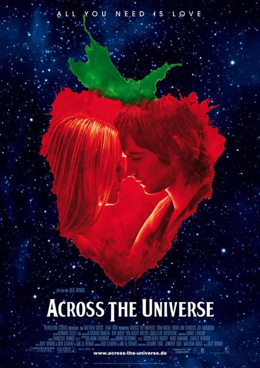 Across the Universe : Kinoposter