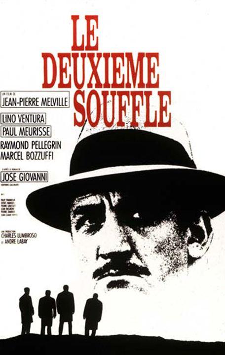 Der zweite Atem : Kinoposter Jean-Pierre Melville