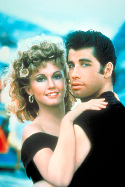 Grease : Bild John Travolta, Olivia Newton-John