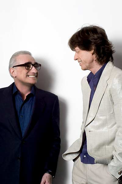Shine a Light : Bild Martin Scorsese, Mick Jagger