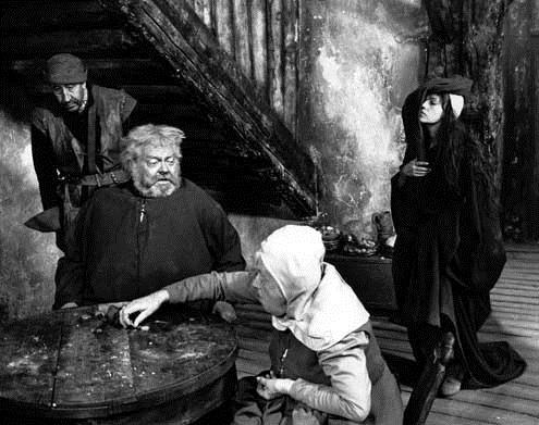 Falstaff : Bild Jeanne Moreau, Margaret Rutherford, Orson Welles
