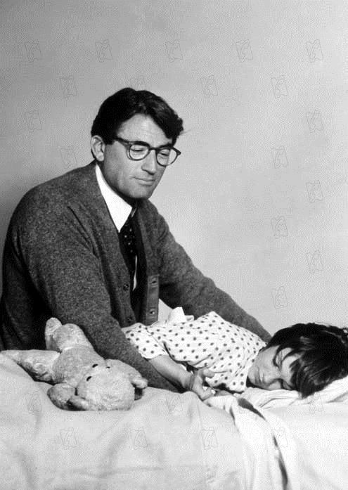 Wer die Nachtigall stört : Bild Gregory Peck, Robert Mulligan