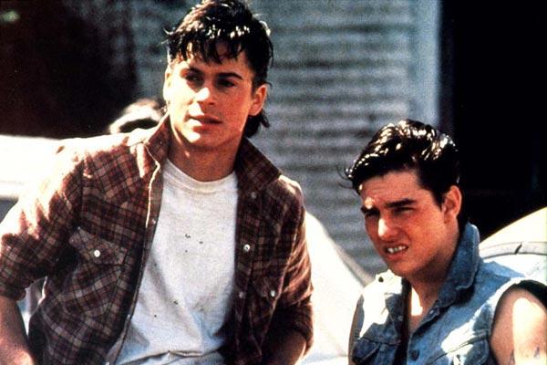 Die Outsider - Rebellen ohne Grund : Bild Rob Lowe, Tom Cruise