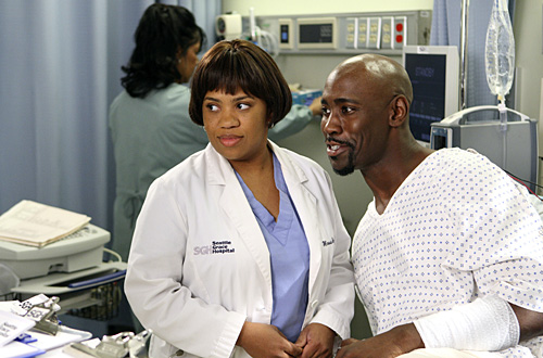 Grey's Anatomy - Die jungen Ärzte : Bild Chandra Wilson, D.B. Woodside
