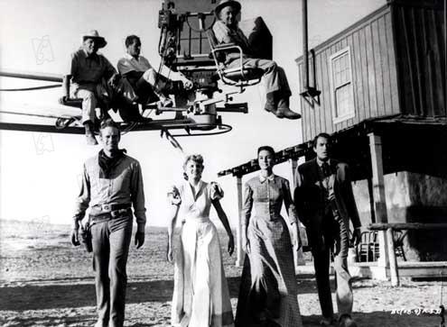 Weites Land : Bild Carroll Baker, Charlton Heston, Gregory Peck, Jean Simmons, William Wyler