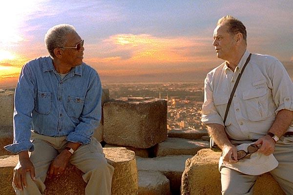 Das Beste kommt zum Schluss : Bild Jack Nicholson, Morgan Freeman