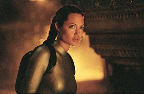 Lara Croft: Tomb Raider : Bild Angelina Jolie, Jan de Bont