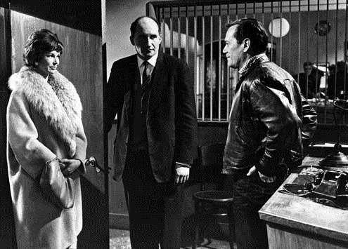 Rhapsodie in Blei : Bild Alvin Rakoff, Dawn Addams, Eddie Constantine