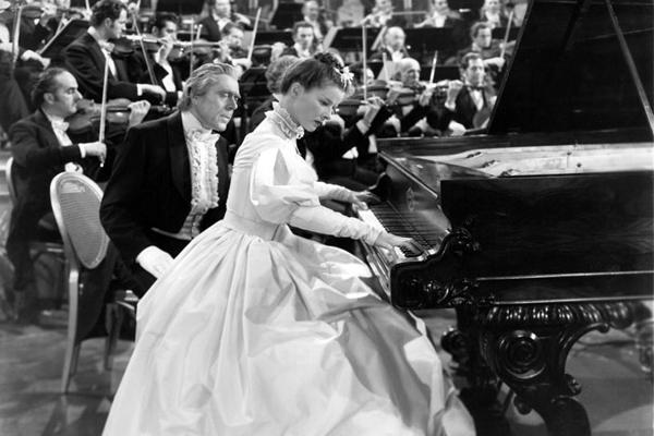 Clara Schumanns große Liebe : Bild Clarence Brown, Katharine Hepburn, Leo G. Carroll