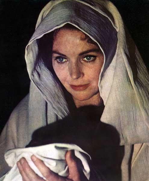 Die größte Geschichte aller Zeiten : Bild Dorothy McGuire, George Stevens