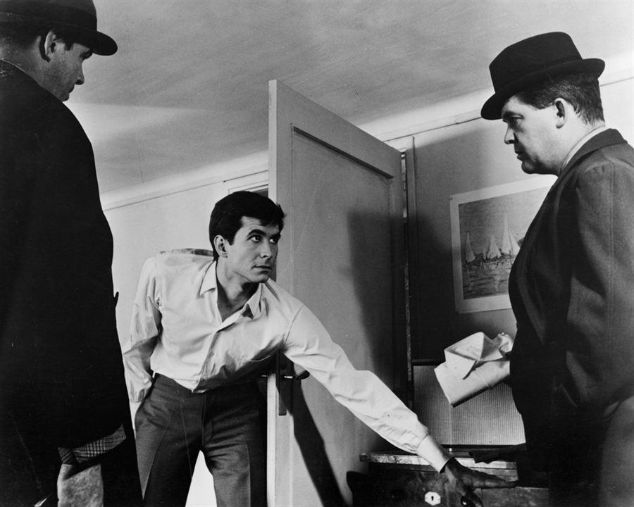 Der Prozess : Bild Anthony Perkins, Orson Welles