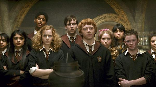 Harry Potter und der Halbblutprinz : Bild Afshan Azad, Alfie E, Devon Murray, Emma Watson, Jessie Cave