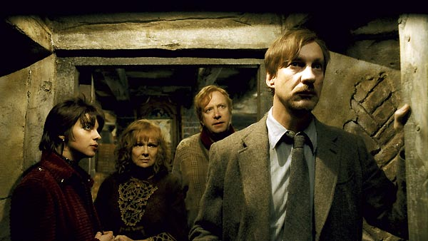 Harry Potter und der Halbblutprinz : Bild David Thewlis, Julie Walters, Mark Williams, Natalia Tena