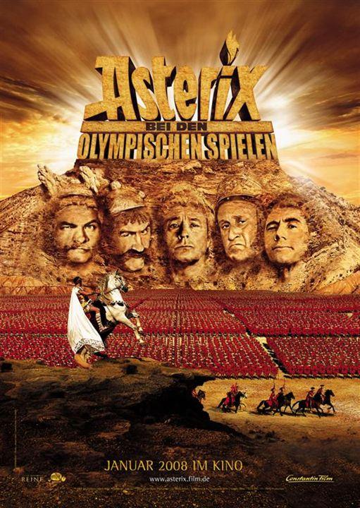 Asterix bei den Olympischen Spielen : Kinoposter