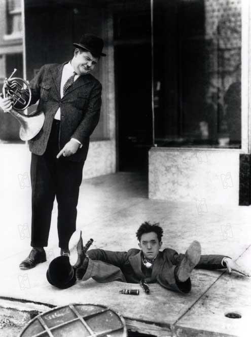 Bild Edgar Kennedy, Oliver Hardy, Stan Laurel