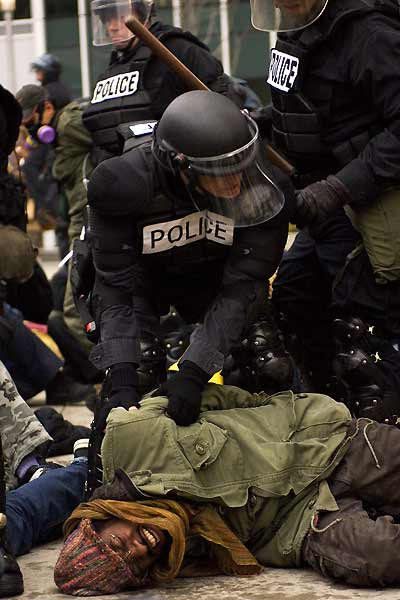 Battle in Seattle : Bild André Benjamin, Stuart Townsend