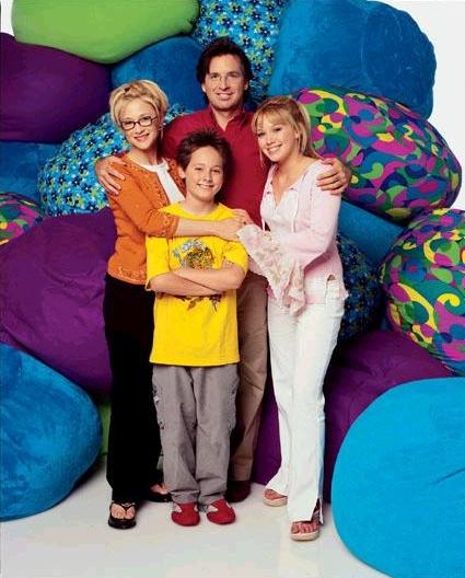 Bild Hallie Todd, Hilary Duff, Jake Thomas, Robert Carradine