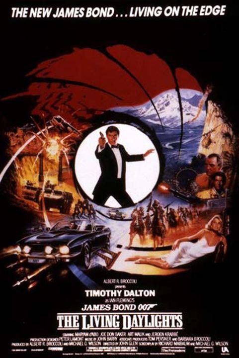 James Bond 007 - Der Hauch des Todes : Kinoposter John Glen, Timothy Dalton