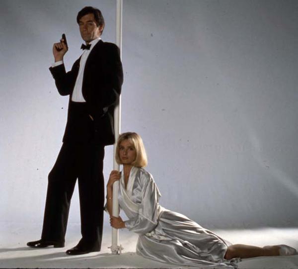 James Bond 007 - Der Hauch des Todes : Bild John Glen, Maryam D'Abo, Timothy Dalton