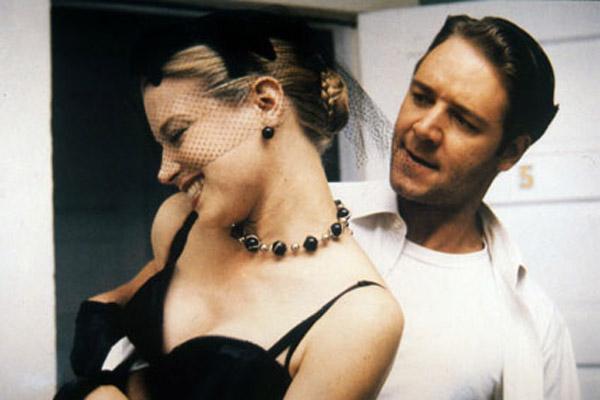 Bild Bridget Fonda, Clare Peploe, Russell Crowe
