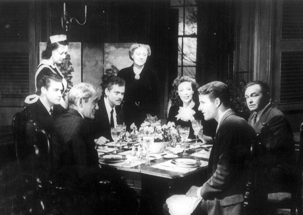 Die Spur des Fremden : Bild Edward G. Robinson, Loretta Young, Orson Welles
