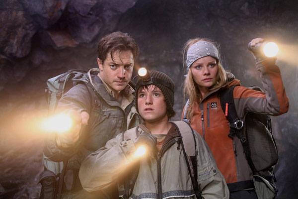 Reise zum Mittelpunkt der Erde : Bild Anita Briem, Brendan Fraser, Eric Brevig, Josh Hutcherson